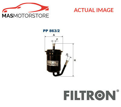 Engine Fuel Filter Filtron Pp863/2 P New Oe Replacement • 31.95£