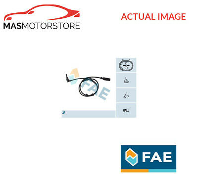 Abs Wheel Speed Sensor Front Fae 78112 P New Oe Replacement • 31.95£