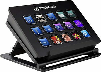 Elgato Stream Deck Controller Of Content IN Direct 15 Keys LCD Personalise • 317.43£