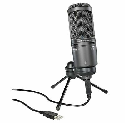 Audio-Technica AT2020USB+ USB Microphone Tracking Number NEW • 145.97£
