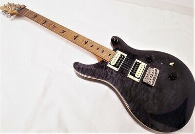 Paul Reed Smith Prs Se Custom 24 Rstm Roasted Maple Gray Black Gn Guitar *Lrt524 • 799.45£