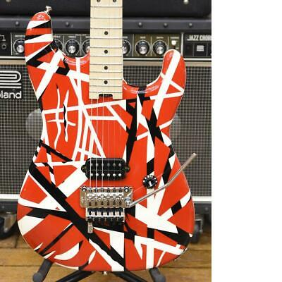 EVH Striped Series Red With Black Stripes Electric Guitar • 735.97£