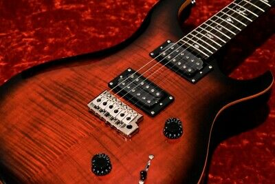 Paul Reed Smith: SE CUSTOM 24 Fire Red Burst Electric Guitar • 769.90£