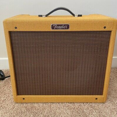 Fender Blues Junior IV Tweed 1x12  15-watt Tube Combo Amp • 369.03£