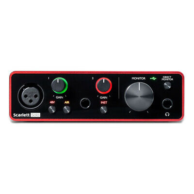 Focusrite Scarlett Solo Compact USB Audio Interface - 3rd Gen - B-Stock • 98.10£