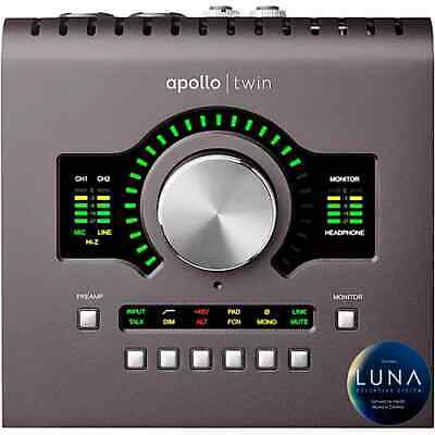 Universal Audio Apollo Twin MKII MK2 UA NEW WO Box QUAD Thunderbolt 2 • 933.26£
