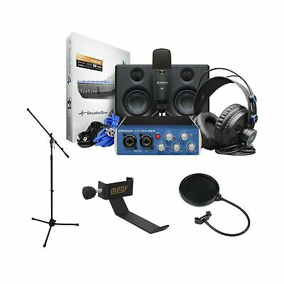 PreSonus AudioBox Studio Ultimate Deluxe Hardware/Software Recording Bundle W... • 298.70£