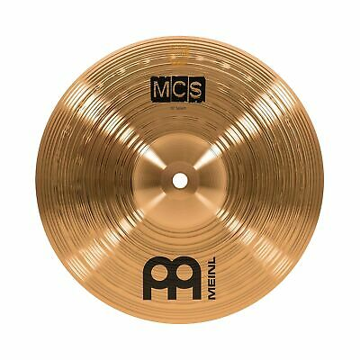 """Meinl 10"""" Splash Cymbal – MCS Traditional Finish Bronze For Drum Set Use, Mad... • 36.36£"""