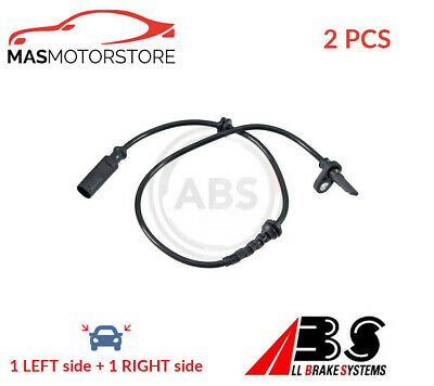 Abs Wheel Speed Sensor Pair Rear Abs 30617 2pcs P New Oe Replacement • 48.95£
