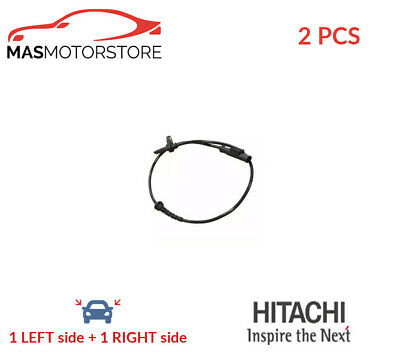 Abs Wheel Speed Sensor Pair Rear Hitachi 131633 2pcs P New Oe Replacement • 45.95£