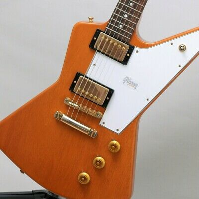 Gibson Custom Shop 1958 Mahogany Explorer Elbow Cut Heavy Antique Natural VOS • 4,753£