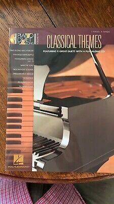 Classical Themes: 9 piano duets Play Along CD Included Hal Leonard