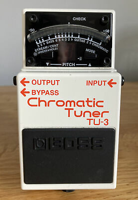 Boss TU-3 Chromatic Tuner Pedal. Boxed W/instructions. Great Condition • 32£