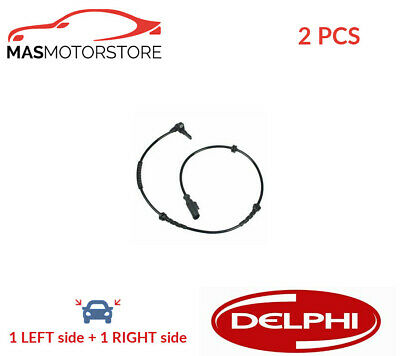 Abs Wheel Speed Sensor Pair Delphi Ss20241 2pcs G For Vauxhall Corsa Iii • 45.85£