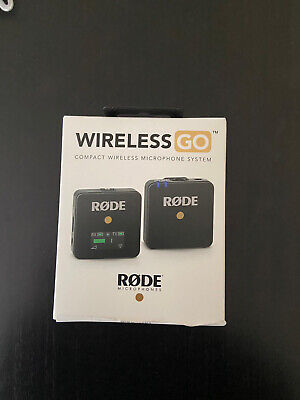 Rode Wireless GO Ultra Compact Digital Wireless Microphone System - Black. • 160£
