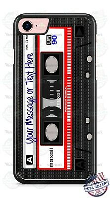 RELOOP TAPE RECORDER CASSETTE Customize Phone Case For IPhone 12 Samsung Google • 15.11£