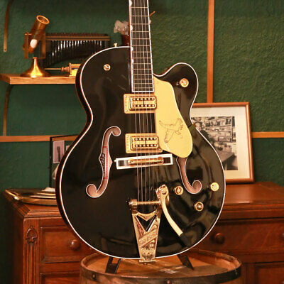 Gretsch: G6136T BLK Players Edition Falcon Electric Guitar • 3,265.83£