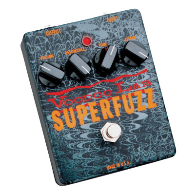 Voodoo Labs Superfuzz Effects Pedal