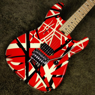 EVH Striped Series Red With Black Stripes Electric Guitar • 1,212.98£