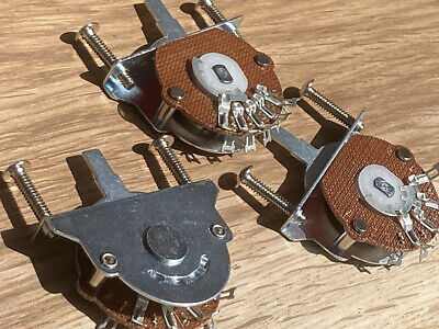 Guitar Switch OAK Style 3 Way, 4 Way, Or 5 Way Including Screws Will Fit Fender • 6.85£