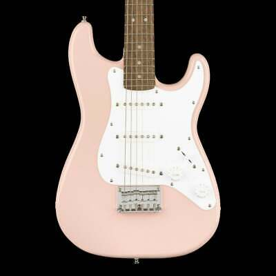 Fender Squier Mini Stratocaster Electric Guitar (Shell Pink)