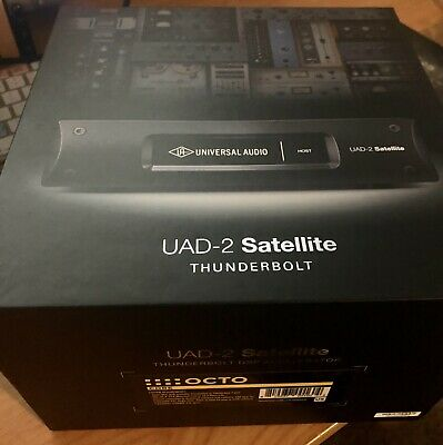 Universal Audio UAD-2 Satellite Thunderbolt - OCTO Core MINT IN THE BOX!!! • 702.32£
