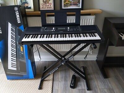 Yamaha PSR-E363 Keyboard - Duronic Stand And Pedal. Boxed. Excellent Condition  • 155£