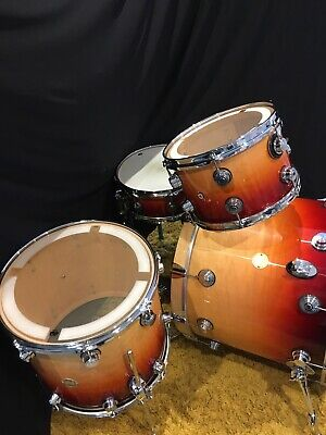Drum Workshop 4 Piece Shell Pk Collectors Series Maple Shells Lacquer Speciality