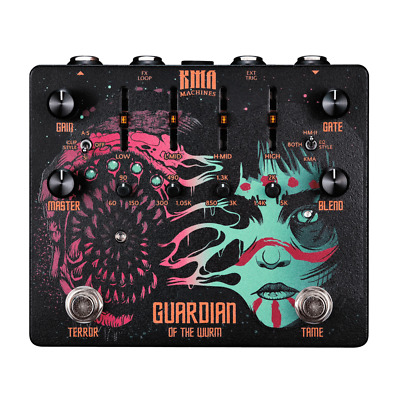 KMA Audio Machines Guardian of the Wurm Distortion Pedal