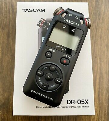 Tascam DR-05X Stereo Handheld Digital Audio Recorder and USB Audio Interface
