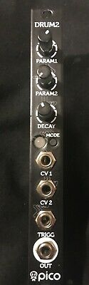 Erica Synths Pico Drum2 Percussion Drum Eurorack Module Synthesizer
