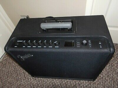 Fender Mustang GT 100 Combo Amplifier - Foot Switch and Amp Cover and Manual.