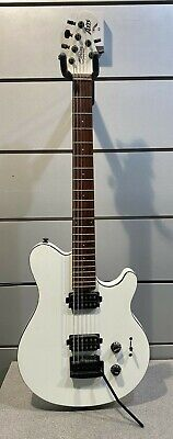 Sterling by MUSIC MAN S.U.B. AXIS / White