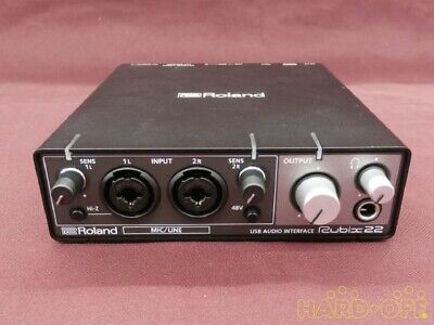 ROLAND Audio interface Model RUBIX22 Category audio Digital Home from japan