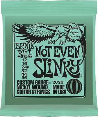 Ernie Ball Not Even Slinky Nickel Wound Green Pack • 8.99£