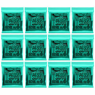 Ernie Ball 2626 Nickel Not Even Slinky Electric Guitar Strings 12-56 12 Sets • 39.85£