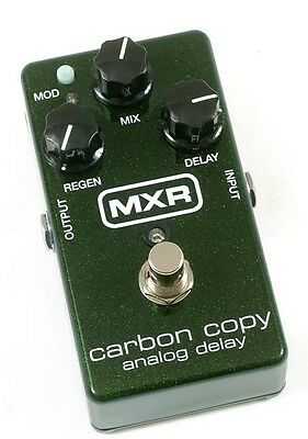 Mxr M169 Carbon Copy Analogue (analog) Delay Guitar Effect Pedal - Brand New! • 159£