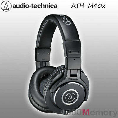 Audio Technica ATH-M40x Professional Studio Monitor Headphones Pro Headset Black • 104.03£