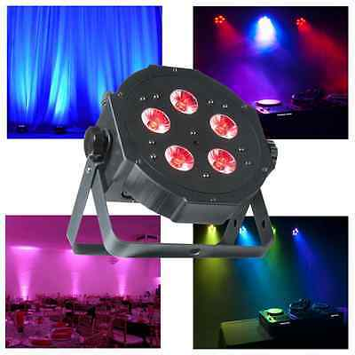 American DJ ADJ Mega Tripar Profile Plus 20w 4in1 RGB UV  LED Par Can Slimline • 65£