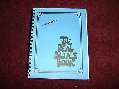 Hal Leonard THE REAL BLUES BOOK C Instruments Fake Book  • 20.28£