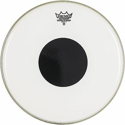 Remo Clear Controlled Sound 13 Inch Drum Head w/Black Dot On Top