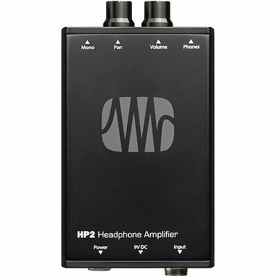 PreSonus HP2 Personal Stereo Battery-Powered Live Stage Headphone Amplifier • 88.32£