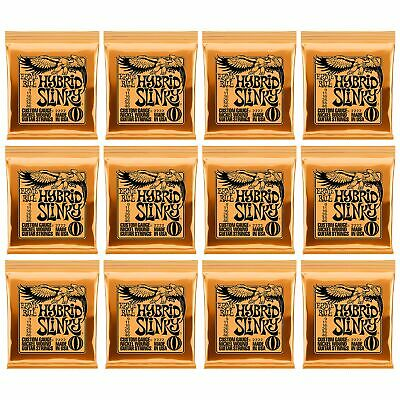 Ernie Ball Hybrid Slinky 2222 9-46 Nickel Wound Strings 12 Sets Pack Made In USA • 38.53£