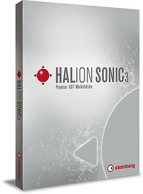 NEW Steinberg Halion Sonic 3 VST Music Production Workstation WIN/MAC For Cubase • 191.42£