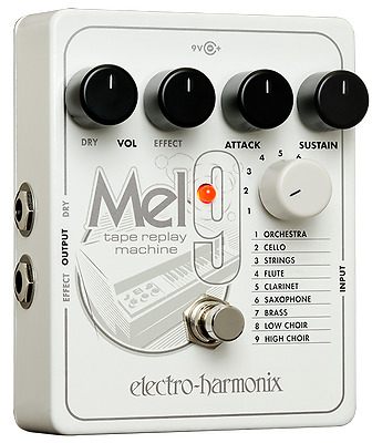 New Electro-Harmonix EHX MEL9 Tape Replay Machine Guitar Pedal Mellotron Mel 9 • 159.09£