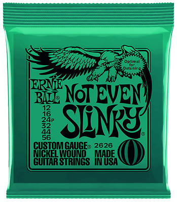 Ernie Ball Not Even Slinky 12-56 Nickel Wound Electric Guitar Strings Sets 2626 • 7.85£