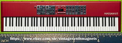 Clavia Nord Piano 1 2 2HP 3 Grand Synthesizer Refrigerator Magnet • 5.71£