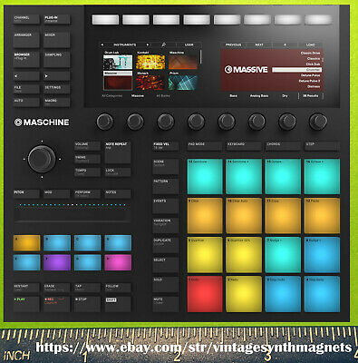 Native Instruments Maschine Studio MK3  Komplete Kontrol 61 88 Synth Magnet • 5.02£