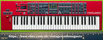 CLAVIA NORD WAVE LEAD 1 2 3 4 A1 Anniversary G2X G2 Modular SYNTHESIZER MAGNET • 5.51£