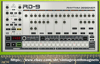 Behringer X32 Crave Poly D RD 8 9 Odyssey Deepmind MS-101 Neutron Synth Magnet • 5.39£